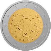 2-euro-herdenkingsmunt-finland-2013-150-jaar-fins-parlament