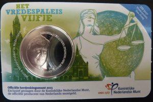 5 euro vredesplaeis 2013