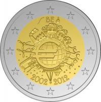 BE 2012 10 jaar euro