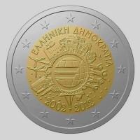 greece 2 euro 2012